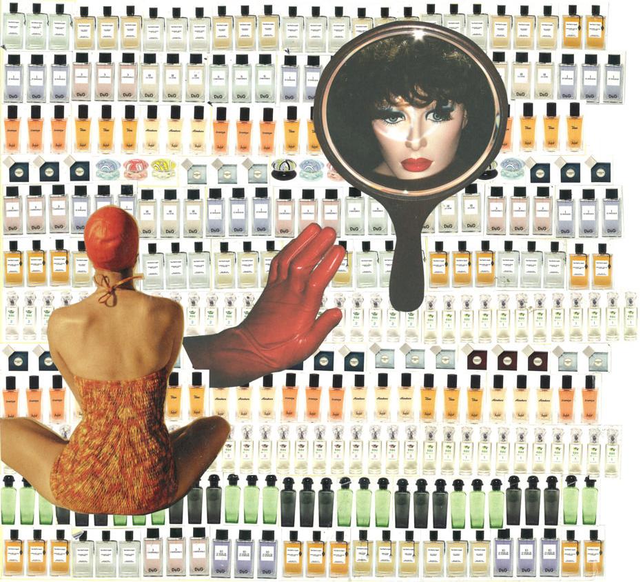 FAF The impossible dream 2009 paper collage cm26x328 modificata