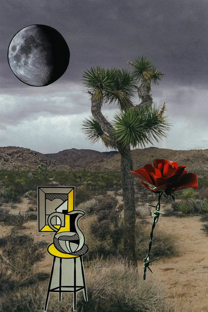 FAF_The desert in my mind_2014_paper collage_cm 25x38