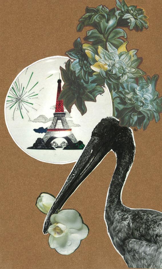 FAF Reve de Paris 2010 paper collage cm125x21 modificata